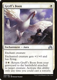 Gryff's Boon, Magic, Shadows over Innistrad