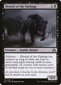 Hound of the Farbogs, Magic: The Gathering, Shadows over Innistrad