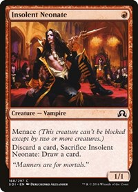 Insolent Neonate, Magic: The Gathering, Shadows over Innistrad