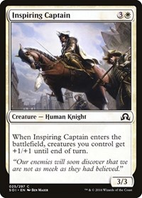 Inspiring Captain, Magic: The Gathering, Shadows over Innistrad