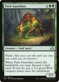 Pack Guardian, Magic: The Gathering, Shadows over Innistrad