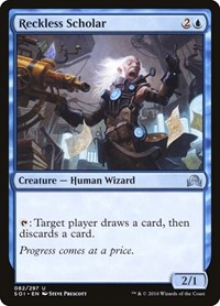 Reckless Scholar, Magic: The Gathering, Shadows over Innistrad