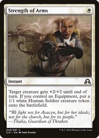 Strength of Arms, Magic: The Gathering, Shadows over Innistrad
