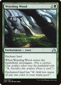 Weirding Wood, Magic, Shadows over Innistrad