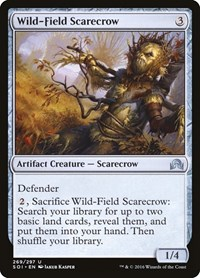 Wild-Field Scarecrow, Magic, Shadows over Innistrad