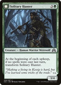 Solitary Hunter, Magic, Shadows over Innistrad