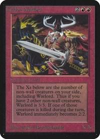 Keldon Warlord, Magic: The Gathering, Alpha Edition