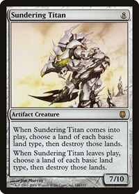 Sundering Titan, Magic: The Gathering, Darksteel