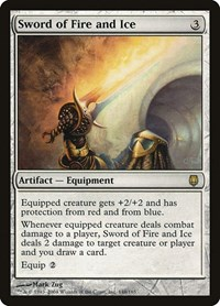 Sword of Fire and Ice, Magic: The Gathering, Darksteel