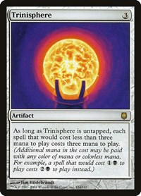 Trinisphere, Magic: The Gathering, Darksteel