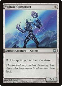 Voltaic Construct, Magic: The Gathering, Darksteel