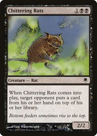 Chittering Rats, Magic: The Gathering, Darksteel