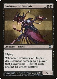 Emissary of Despair, Magic: The Gathering, Darksteel