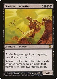 Greater Harvester, Magic: The Gathering, Darksteel