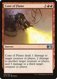 Cone of Flame, Magic: The Gathering, Welcome Deck 2016