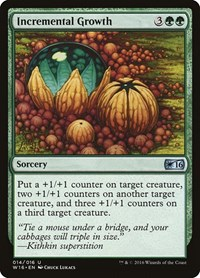 Incremental Growth, Magic: The Gathering, Welcome Deck 2016