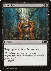 Mind Rot, Magic: The Gathering, Welcome Deck 2016