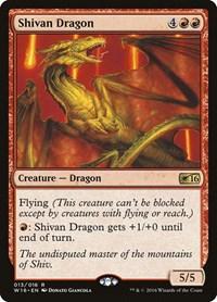 Shivan Dragon, Magic: The Gathering, Welcome Deck 2016