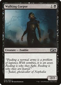 Walking Corpse, Magic: The Gathering, Welcome Deck 2016