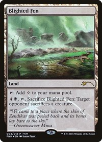 Blighted Fen, Magic: The Gathering, FNM Promos