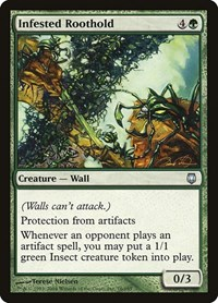 Infested Roothold, Magic: The Gathering, Darksteel