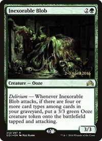 Inexorable Blob, Magic: The Gathering, Prerelease Cards