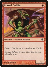 Crazed Goblin, Magic: The Gathering, Darksteel