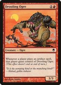 Drooling Ogre, Magic: The Gathering, Darksteel
