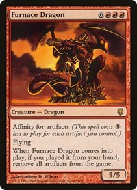 Furnace Dragon, Magic: The Gathering, Darksteel
