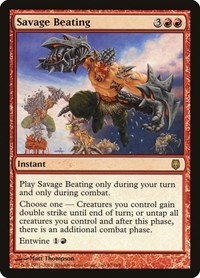Savage Beating, Magic: The Gathering, Darksteel
