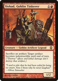 Slobad, Goblin Tinkerer, Magic: The Gathering, Darksteel