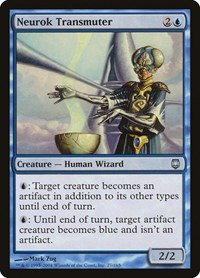 Neurok Transmuter, Magic: The Gathering, Darksteel