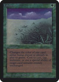 Lifelace, Magic: The Gathering, Alpha Edition