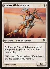 Auriok Glaivemaster, Magic: The Gathering, Darksteel