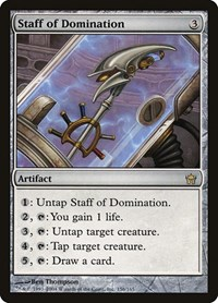 Staff of Domination (Foil)