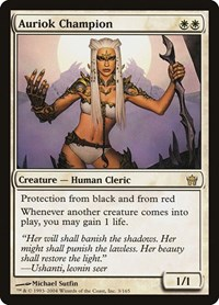 Auriok Champion, Magic: The Gathering, Fifth Dawn