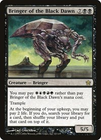 Bringer of the Black Dawn, Magic: The Gathering, Fifth Dawn