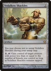 Vedalken Shackles, Magic: The Gathering, Fifth Dawn