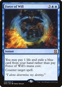 Force of Will, Magic: The Gathering, Eternal Masters
