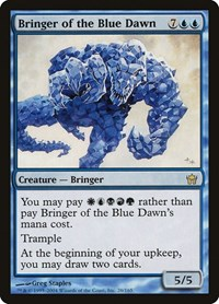 Bringer of the Blue Dawn, Magic: The Gathering, Fifth Dawn