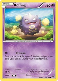 Koffing, Pokemon, XY - Fates Collide