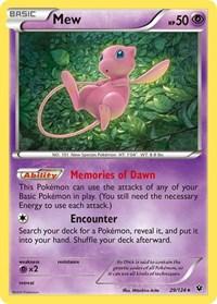 Mew, Pokemon, XY - Fates Collide