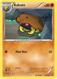 Kabuto, Pokemon, XY - Fates Collide
