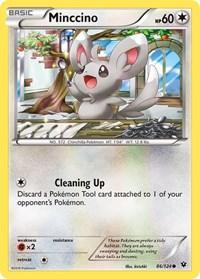 Minccino (86), Pokemon, XY - Fates Collide