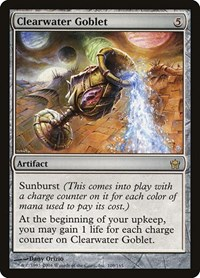 Clearwater Goblet, Magic: The Gathering, Fifth Dawn