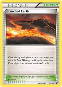 Scorched Earth, Pokemon, XY - Fates Collide