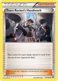Team Rocket's Handiwork, Pokemon, XY - Fates Collide