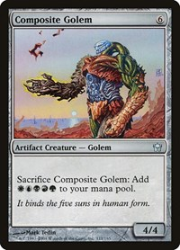 Composite Golem, Magic: The Gathering, Fifth Dawn
