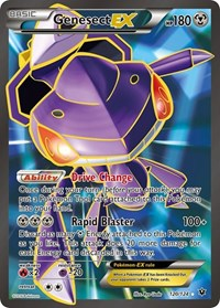 Genesect EX (Full Art), Pokemon, XY - Fates Collide
