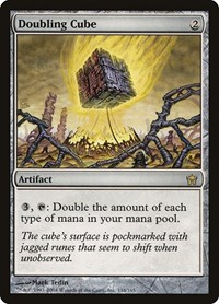Doubling Cube, Magic: The Gathering, Fifth Dawn